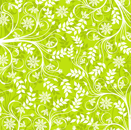 The Green Background Pattern Vector MaterialDownload Free Vector60d Amazing Green Pattern Background