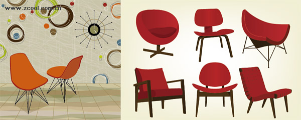 Charming Chair Design Vector Gallery - Simple Design Home - levitra-9.us