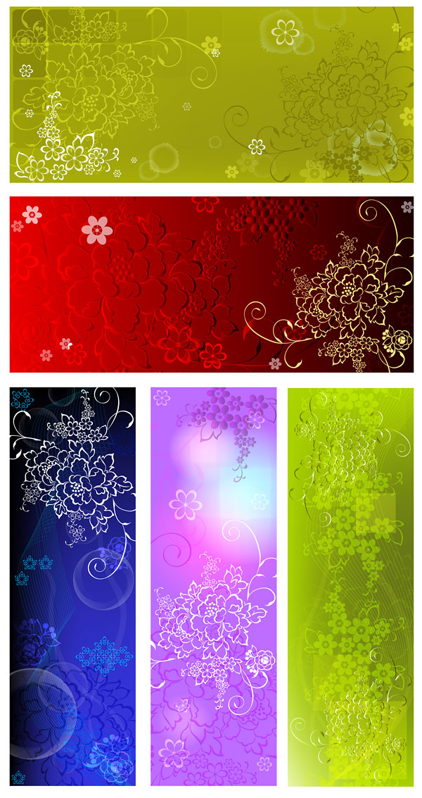 flower patterns backgrounds. Embossed flower pattern