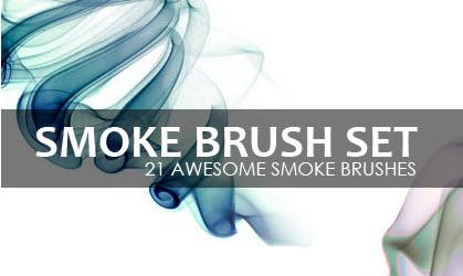 Cigarette smoke ring smoke PHOTOSHOP brushes!_Download free