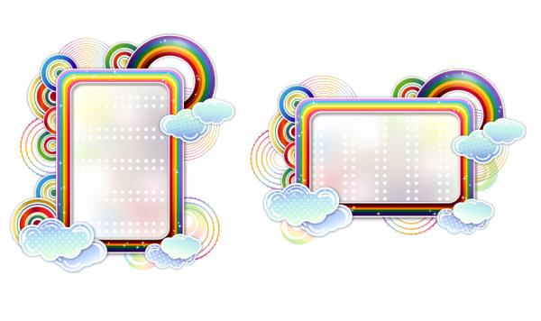 Cute Border Designs Border Design Clouds Cute