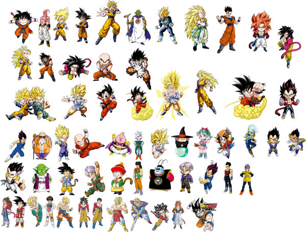 Cartoon Dragon Ball z Characters Keywords:dragon Ball Cartoons
