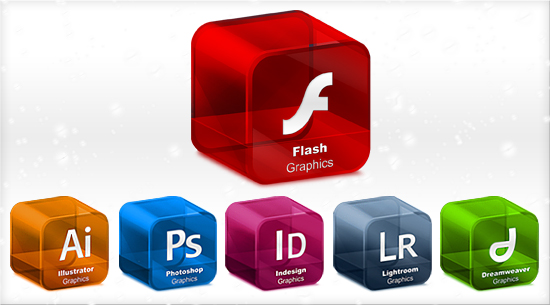 Cube adobe Series Software png icon_Download free vector,3d model,Icon--youtoart.com