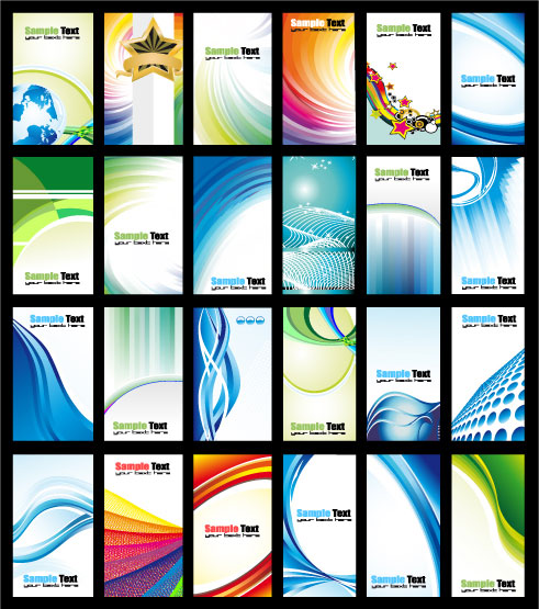 Motion card template vector material_Download free vector ...