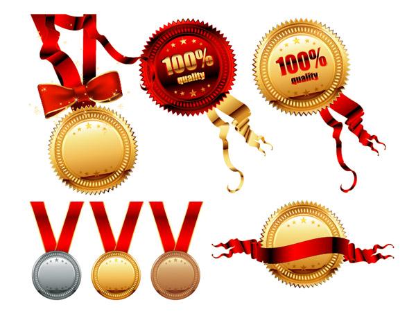 Medals Medal Vector Material_Download Free Vector,3d Model