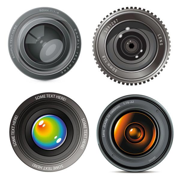 hd camera lens vectordownload free vector3d modelicon