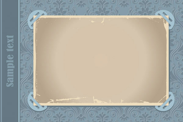 Fixed the old paper vector -1_Download free vector,3d model