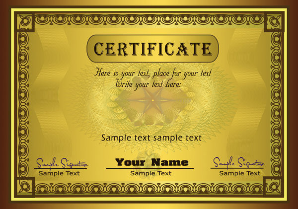 gorgeous diploma certificate template 02