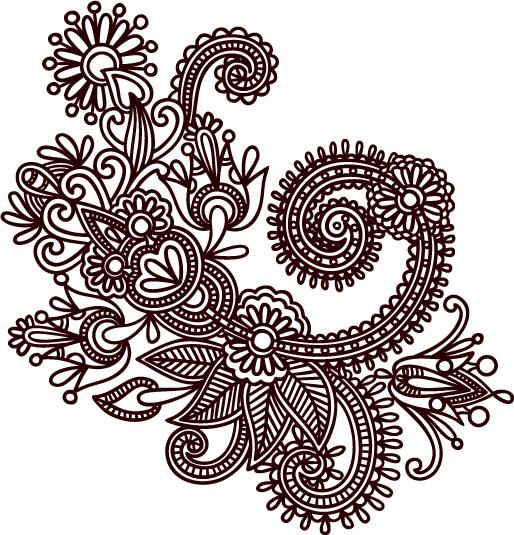 lace drawing pattern - photo #25