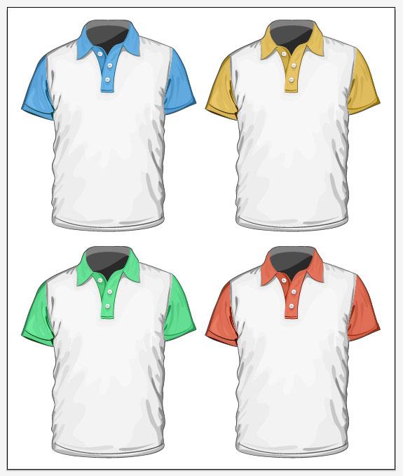 Volunteers Clothing 03 Vector Material Download Free Vector 3d Model Icon Youtoart Com