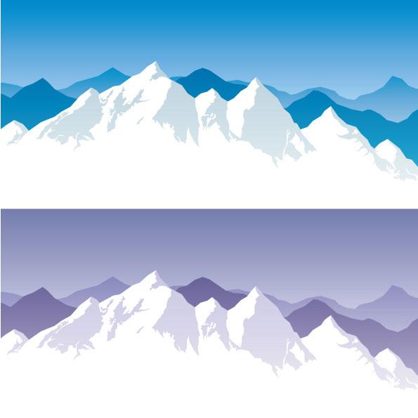 cartoon snow   vector material download free vector 3d