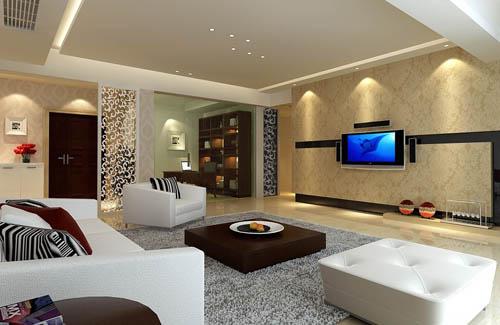 Living room 8 reception room home space model 3d for Living room designs 3d model