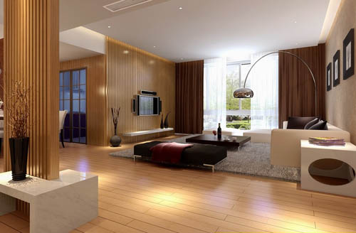 Living Room 16 Reception Room Home Space Model 3d