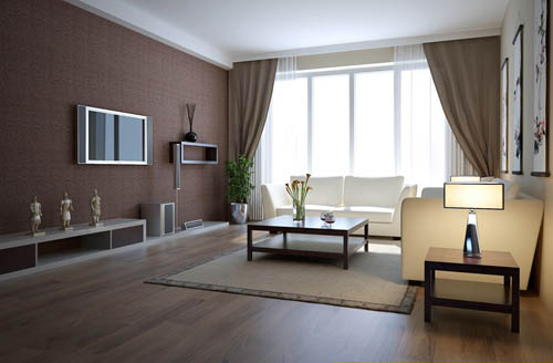living room 19 reception room home space model 3d 3d models