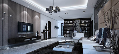 Merveilleux Living Room  40, Reception Room, Home Space, Model, 3D