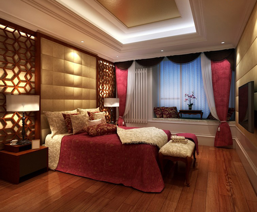Bedroom vintage bedroom classic bedroom interior space for Model bedroom interior design