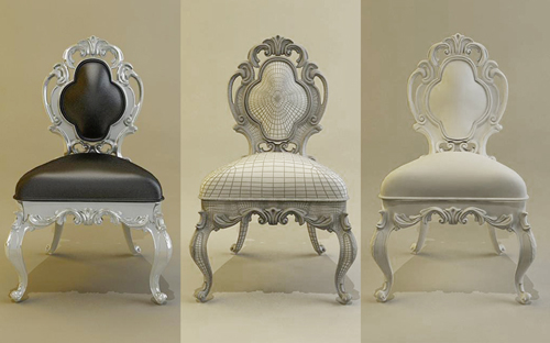 KeyWords:Baroque Chairs, Chairs, Europe