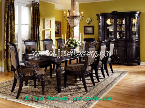 KeyWords:Siwei Lan   Dining Table And C Part 75
