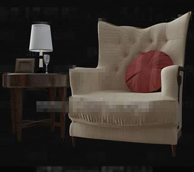 Single Comfortable And Stylish Sofa