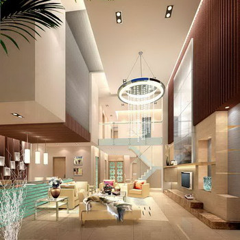 Modern Luxury Penthouse Living Room Download Free Vector