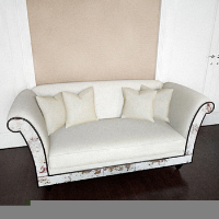 European-style sofa 3D model