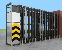 Electronic gate 3D models
