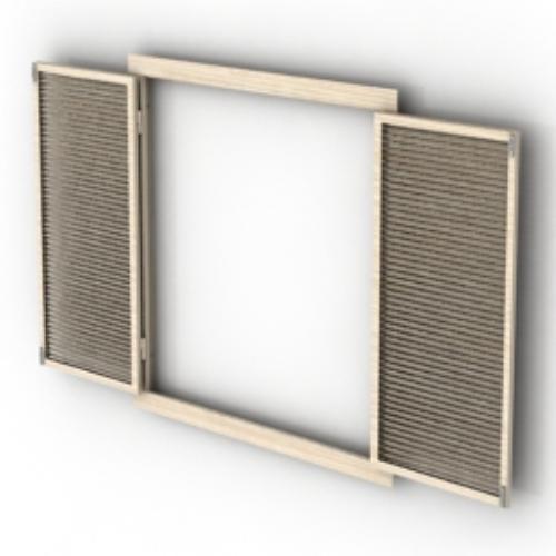 Double Open Windows : Double open window model download free vector d