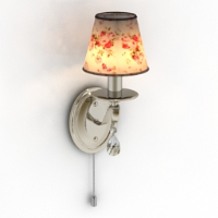 floral wall lamp model
