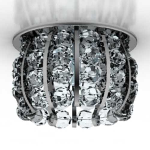 black crystal chandelier cool model_Download free vector,3d