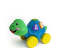 Colorful little turtle toys 3d model
