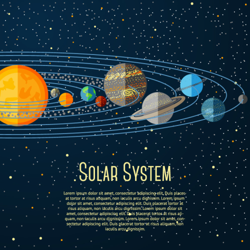 solar system vector free download - photo #43